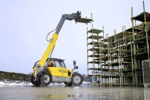 TH522 Telehandler Scaffold Lift