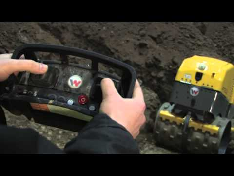 Wacker Neuson Rt 82 Trench Roller Smart Remote Controlled
