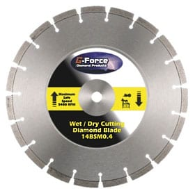 "G-Force 14"" Diamond Blade Specials"