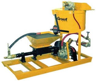 Chemgrout grout pump rental