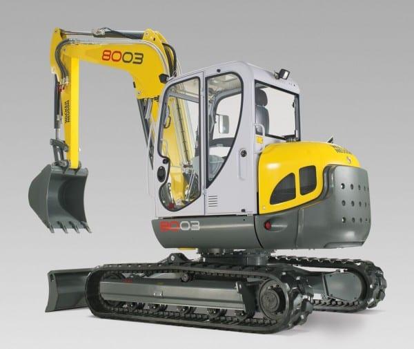 Wacker Neuson 8003 Mini-Excavator