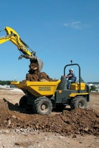 6001 Dumper on the Job, Construction Equipment