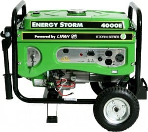 Lifan ES4000E Energy Storm Generator