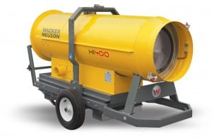 wacker neuson HI-400HD-G heater
