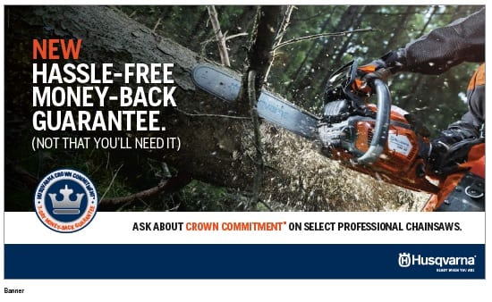 Husqvarna Crown Commitment