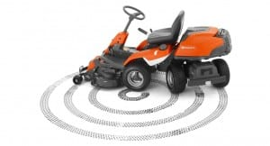 Husqvarna Articulated Rider Lawn Mower