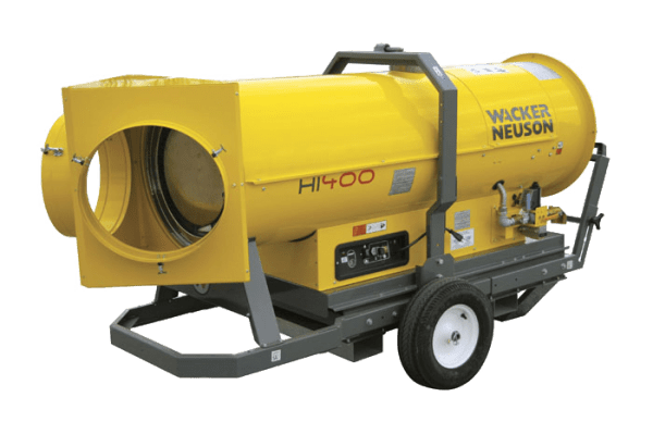 Clean Air Heater for Jobsites