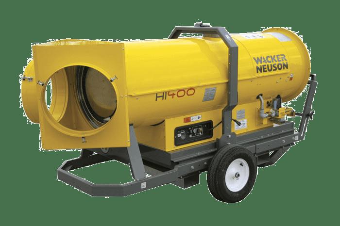 Wacker Neuson Hi 400 Indirect Fired Diesel Heater Gamka