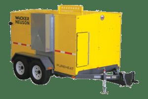 Wacker Neuson Hydronic Surface Ground Heaters
