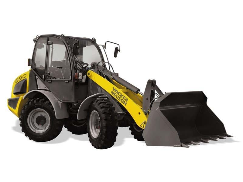 Wacker Neuson 850 Wheel Loader - AWS All Wheel Steer