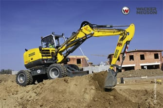 Wacker Neuson Action 9503 Wheeled Excavator - Rubber Tired