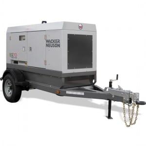 Wacker Neuson G70 Generator Trailer