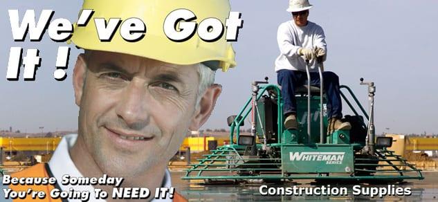 Concrete Equipment Rentals
