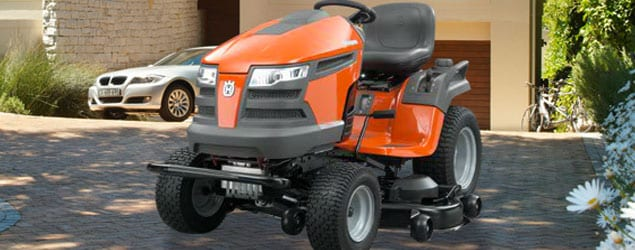 Husqvarna Lawn Tractor Attachments No : Husqvarna riding lawn mowers video