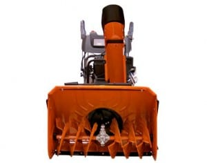 """Husqvarna 1830EXL Two Stage 30"""" Snow Thrower Front View"""