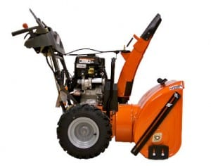 "Husqvarna 1830EXL Two Stage 30"" Snow Thrower Side View"