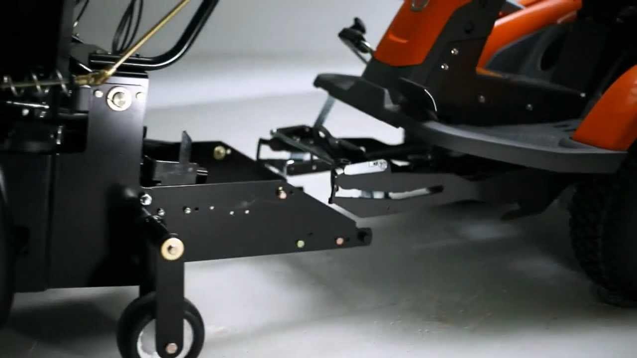 Husqvarna R322t Awd Articulated Rider Video
