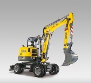 Wacker Neuson 6503 Wheeled Excavator